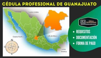 Cédula Profesional Guanajuato
