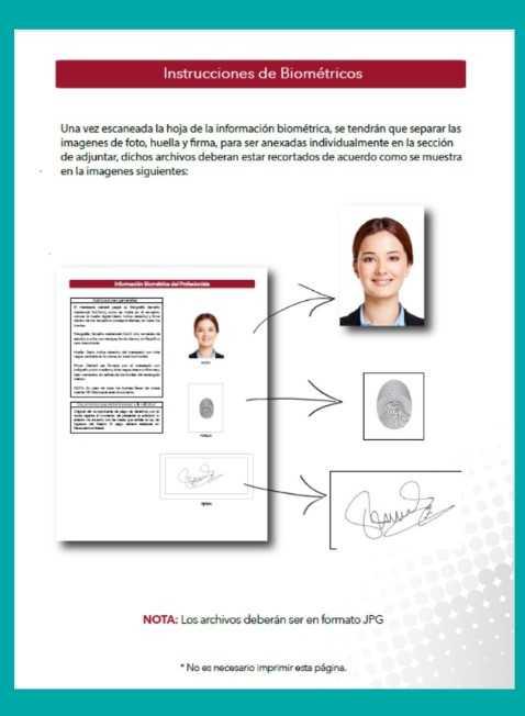 instrucciones biometricos jalisco